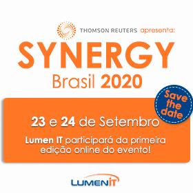 Save the date | SYNERGY Brasil 2020